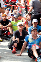 Start of the Ultra Trail du Mont Blanc (UTMB) 2013